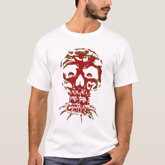 Red JJ and The Chokers Skull Tshirt