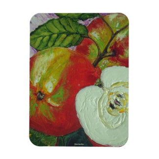 Red Johnagold Apples Magnet