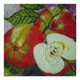 Red Jonagold Apples Fine Art Poster