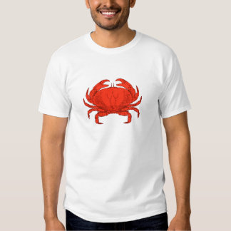 Red Jonah Crab Logo Dresses