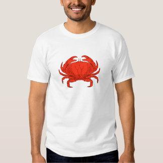Red Jonah Crab Logo T Shirt