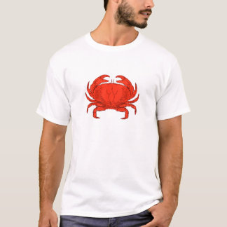 Red Jonah Crab Logo T-Shirt