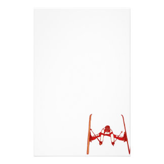 Red Jumper Customized Stationery