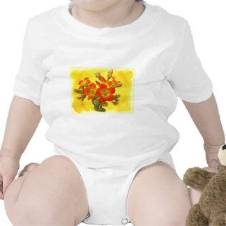Red Kalanchoe - Succulent Sunshine Baby Bodysuit