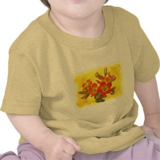 Red Kalanchoe - Succulent Sunshine Tee Shirts