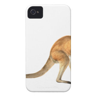 Red Kangaroo In Side View Case-Mate iPhone 4 Case