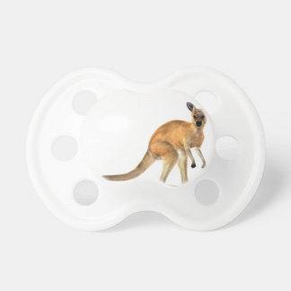 Red Kangaroo In Side View Pacifier