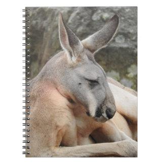 Red Kangaroo Notebook