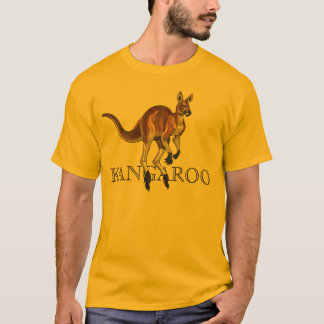 red kangaroo T-Shirt