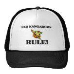 RED KANGAROOS Rule! Mesh Hat