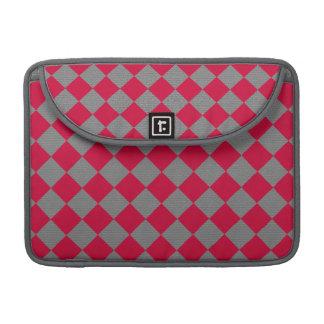 Red Karos MacBook Pro Sleeve