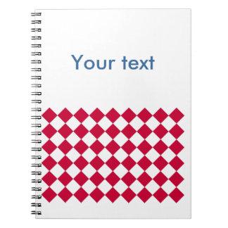 Red Karos Notebook