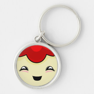 Red Kawaii Tickle Monster Key Chain