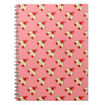 Red Kawaii Tickle Monster Note Books