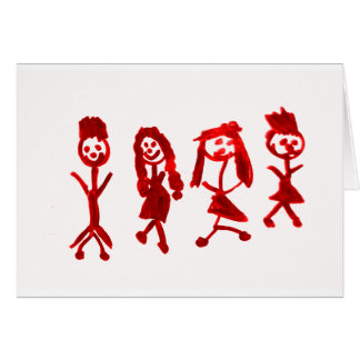 Red Kaylee My Family 2013 Art1a Hoboken The MUSEUM Card