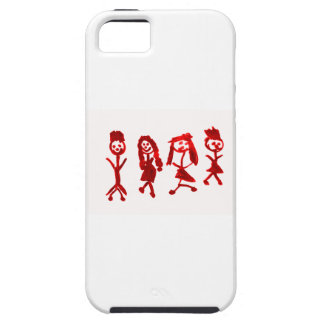 Red Kaylee My Family 2013 Art1a Hoboken The MUSEUM iPhone 5 Cases