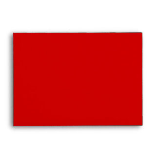 Red Keep Calm and Carry On Envelope