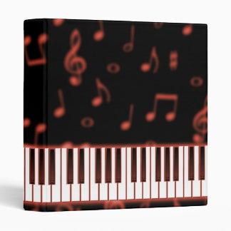 Red Keyboard Binder
