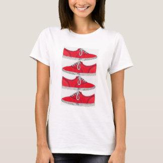 red kicks T-Shirt