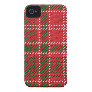 Red Kilt Tartan iPhone 4 Cover