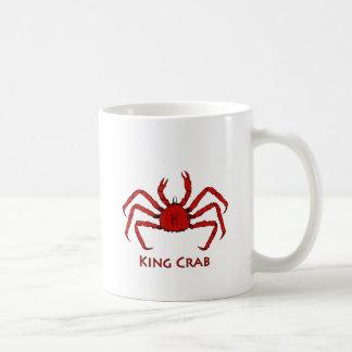 Red King Crab color illustration Mugs