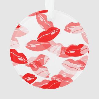 Red Kiss Love Lips Design