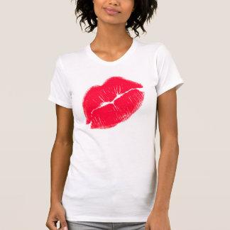 Red Kissy Lips T Shirts