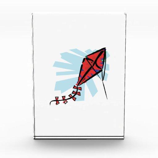 Red Kite Acrylic Award