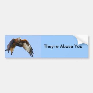 Red Kite Bumper Sticker