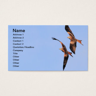 Red Kite Business Card