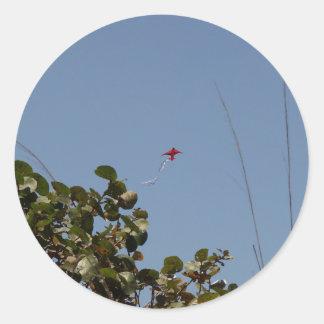 Red Kite Classic Round Sticker
