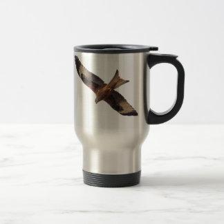 Red Kite In Sky 15 Oz Stainless Steel Travel Mug