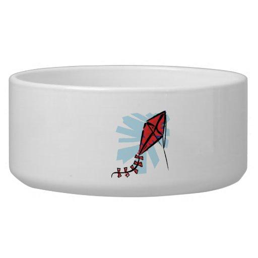 Red Kite Dog Water Bowls