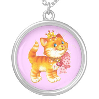 Red Kitten Necklace