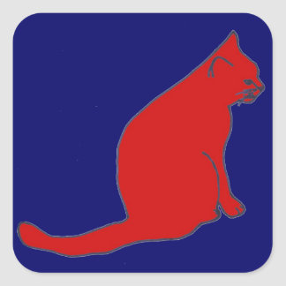 Red Kitty stickers