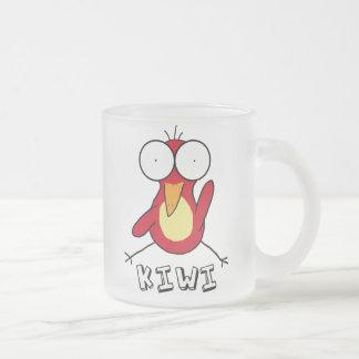 Red Kiwi Frosted Mug