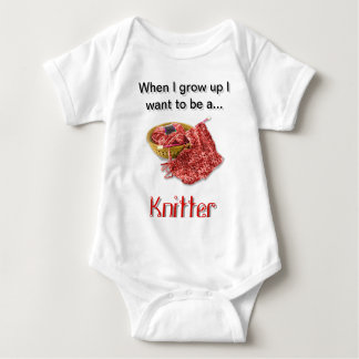 Red Knitter - When I Grow Up I want to be a... Shirt