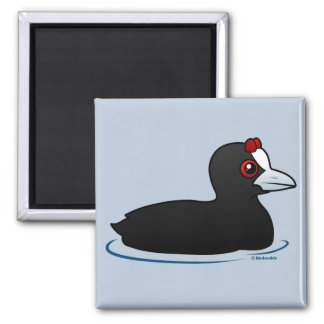 Red-knobbed Coot Refrigerator Magnets