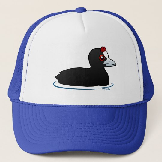 Red-knobbed Coot Trucker Hat