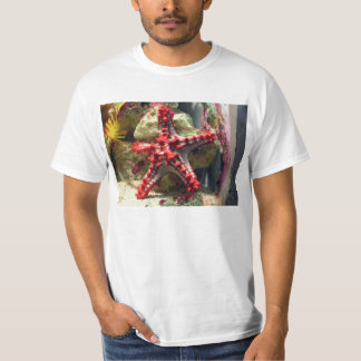 Red Knobbed Starfish - Incredible Shot T-Shirt