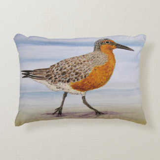 Red Knot Pillow