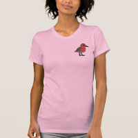Red Knot Women's American Apparel Fine Jersey Short Sleeve T-Shirt