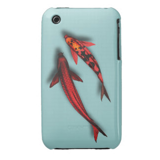 """Red Koi Fish iPhone3 Casemate """"Barely There"""" iPhone 3 Case"""
