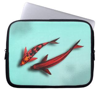 Red Koi Fish Laptop Travel Sleeve Laptop Computer Sleeve