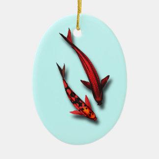 Red Koi Fish Ornament