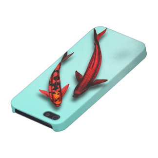 Red Koi Fish Phone Case Covers For iPhone 5