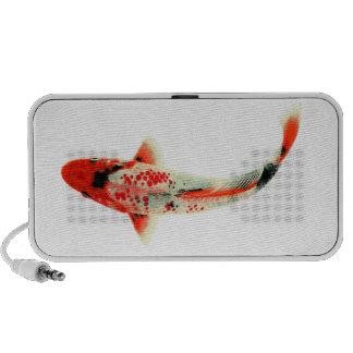 Red Koi Travel Speakers