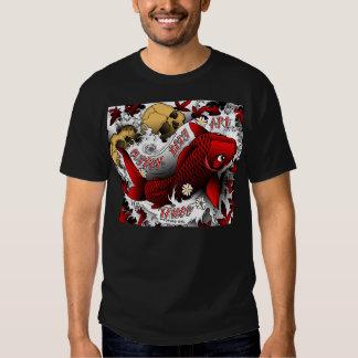 red koi tee shirt