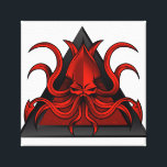 """red kraken illustration canvas print<br><div class=""""desc"""">&quot;kraken illustration&quot;, kraken&#160;, monster&#160;, red&#160;, octopus&#160;, beast&#160;, cephalopod&#160;, tentacles&#160;, &quot;kraken logo&quot;, &quot;logo kraken&quot;, artwork&#160;, mythology&#160;, squid&#160;, myth&#160;, water&#160;, vector&#160;, giant&#160;, sea&#160;, design&#160;, ocean&#160;, dangerous&#160;, drawing&#160;, symbol&#160;, character&#160;, marine&#160;, deep&#160;, angry&#160;, evil&#160;, illustration&#160;, creature&#160;, graphic&#160;, &quot;underwater&quot;&#160;, &quot;cartoon drawing&quot;&#160;, &quot;illustration kraken&quot; , triangle, </div>"""