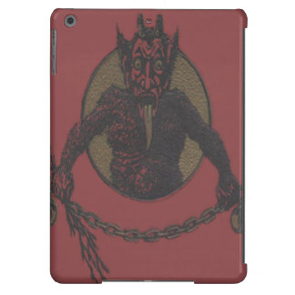 Red Krampus Tongue Chains Switch Case For iPad Air